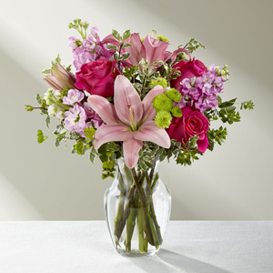 Bonnie Flower Shop Inc The FTD® Pink Posh™ Bouquet Chicago, IL, 60618 FTD Florist Flower and Gift Delivery
